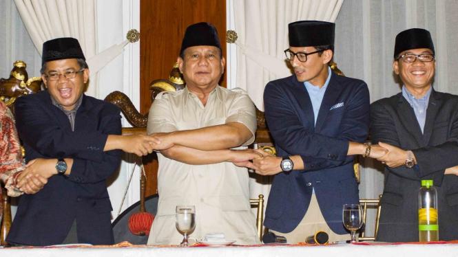 Amien Rais Dan Rachmawati Dampingi Prabowo-sandi Dalam Debat