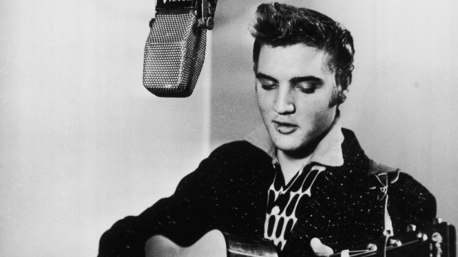 Musisi Legendaris Elvis Presley Dapat Penghargaan Dari Donald Trump