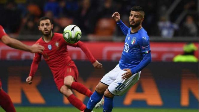 Imbangi Italia, Portugal Lolos Ke Semifinal Uefa Nations League