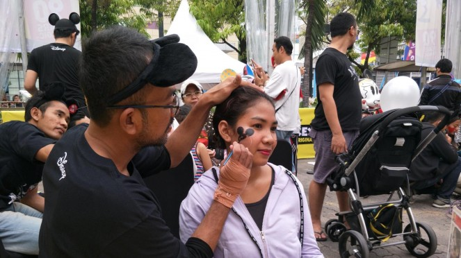 Face Painting di Mickey Mouse 90th Anniversary Celebration