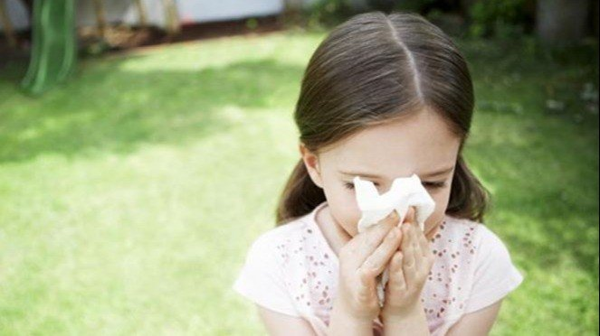 Ilustrasi Anak Penderita Sinusitis