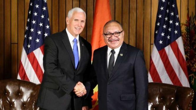 AS-Australia Bangun Pangkalan Militer Bersama di Pulau Manus