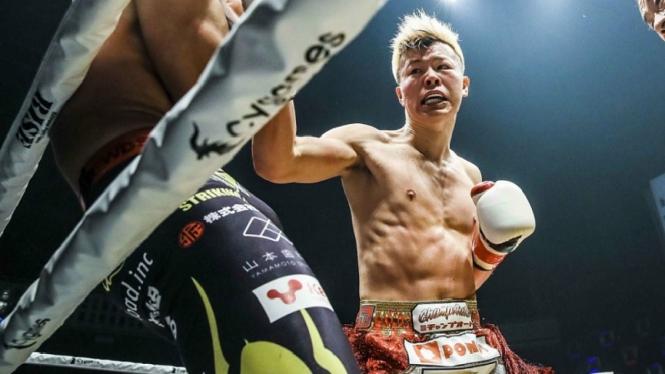Kickboxer Jepang calon lawan Mayweather, Tenshin Nasukawa