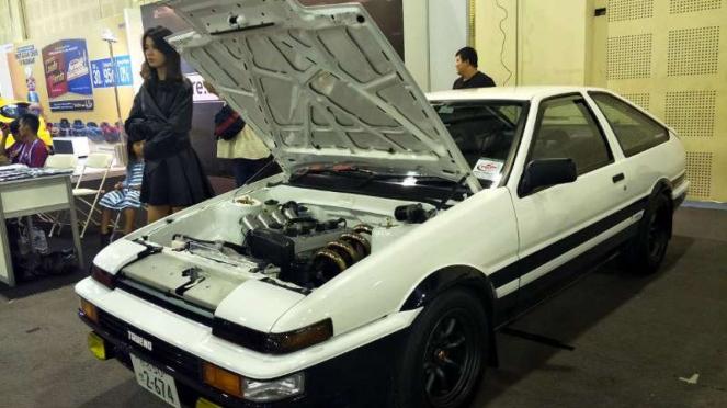 Replika Toyota Sprinter Trueno dalam film Initial D.