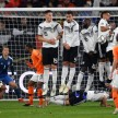 Pertandingan UEFA Nations League antara Jerman melawan Belanda