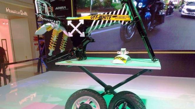 Motor custom baru Gibran Rakabuming Raka