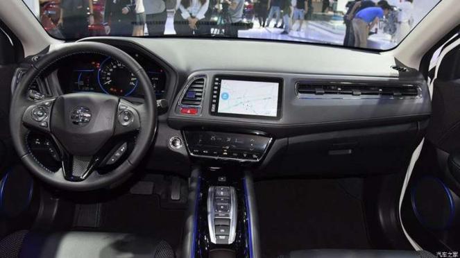 Interior Honda HR-V versi listrik
