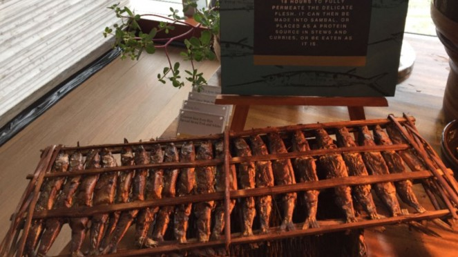 Produk pangan ikan roa dari Javara