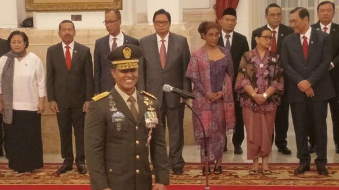 KSAD Jenderal TNI Andika Perkasa.