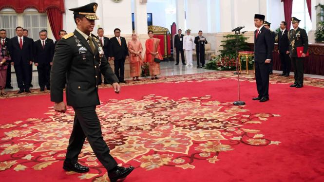 Kepala Staf Angkatan Darat (KSAD) Jenderal TNI Andika Perkasa.