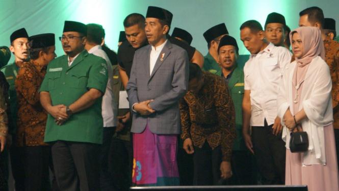 Presiden Jokowi bertemu dengan GP Ansor