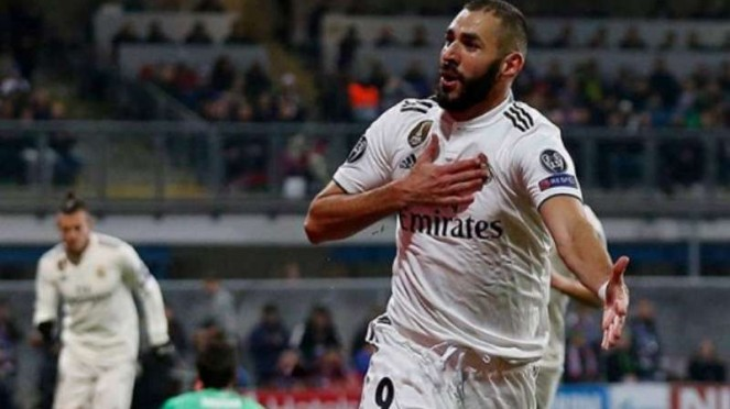 Striker Real Madrid, Karim Benzema