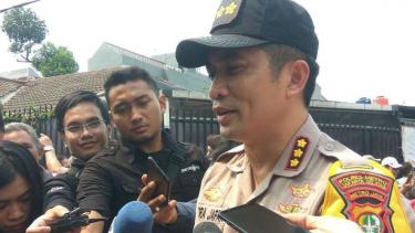 Kapolres Jakarta Selatan Kombes Pol Indra Jafar