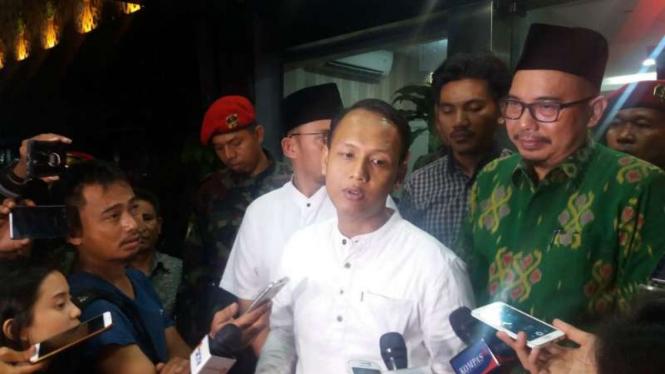 Ketua Pelaksana acara kemah dan apel Pemuda Islam Indonesia Ahmad Fanani