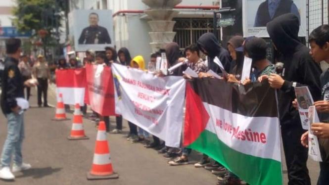Aksi FPB mendukung Palestina