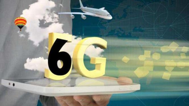 Ilustrasi teknologi 6G.