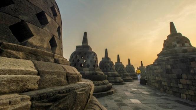 Candi Borobudur, Yogyakarta.