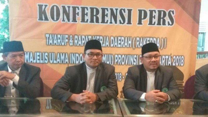 Rakerda MUI DKI Jakarta, Senin, 26 November 2018.