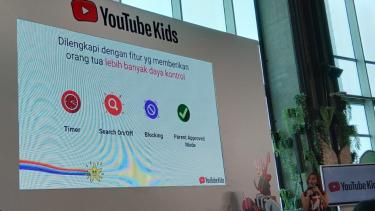 YouTube Kids dilengkapi dengan fitur kontrol oleh orangtua