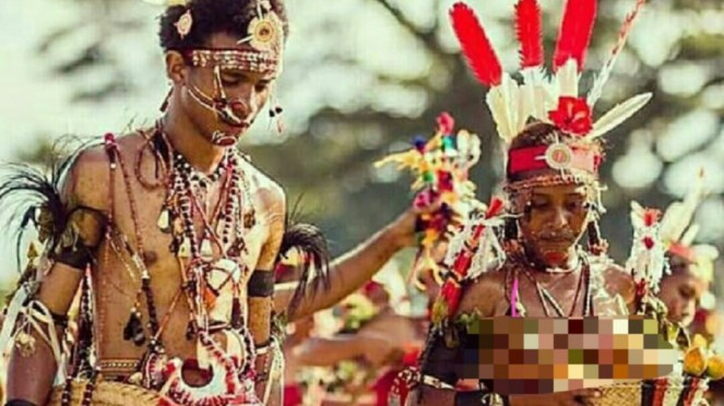 Suku Trobrianders di Papua Nugini