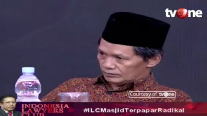 Dewan Pengawas P3M Agus Muhammad di ILC