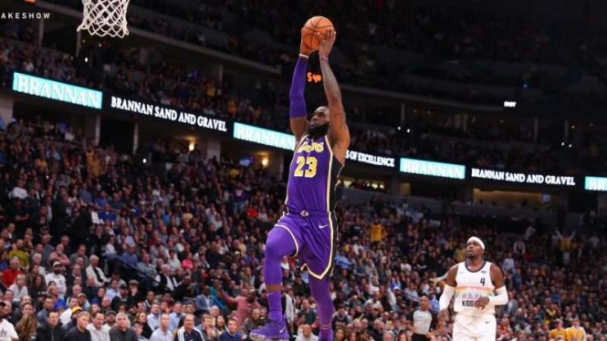 Bintang Los Angeles Lakers, LeBron James