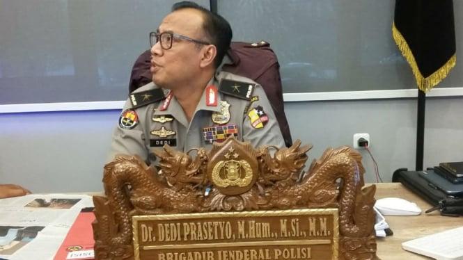 Kepala Bagian Penerangan Umum Divisi Humas Mabes Polri Brigjen Pol Dedi Prasetyo