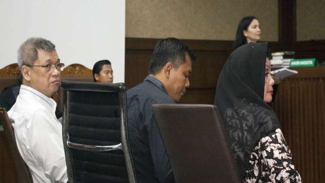Terdakwa kasus suap DPRD Sumut