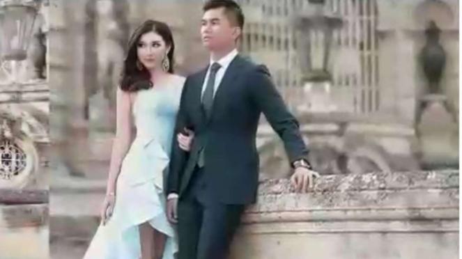 Foto prewedding Jusup-Clarisa di Eropa