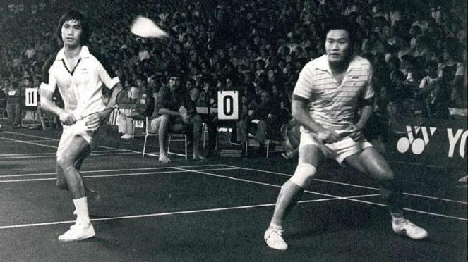 Christian Hadinata/Ade Candra di Kejuaraan Dunia 1980 Jakarta