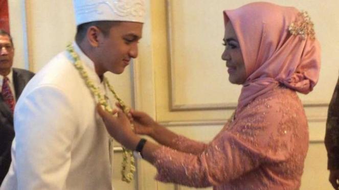 Ge Pamungkas resmi menikahi Anastasia Mustikandrina