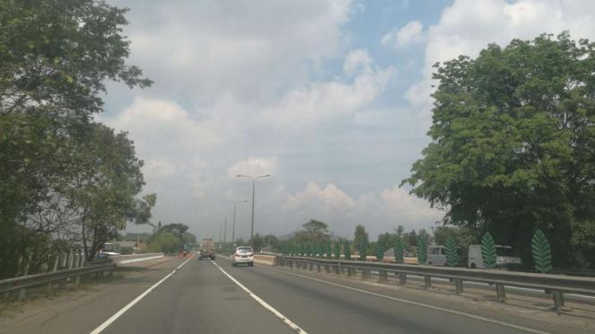 Suasana di ASTRA Tol Tangerang-Merak