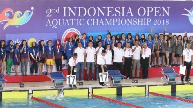 Indonesia Open Aquatic Championship 2018