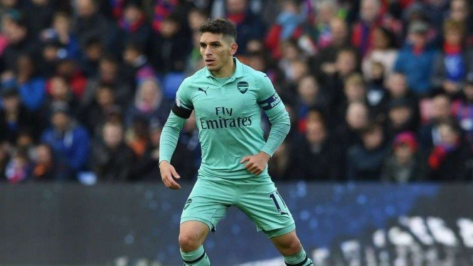 Gelandang Arsenal, Lucas Torreira