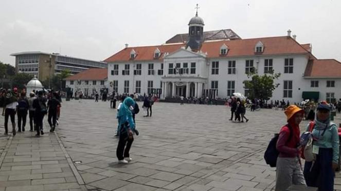 Museum Fatahillah di Kota Tua, Jakarta.