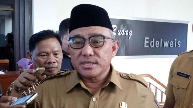 Wali Kota Depok, Idris Abdul Shomad.