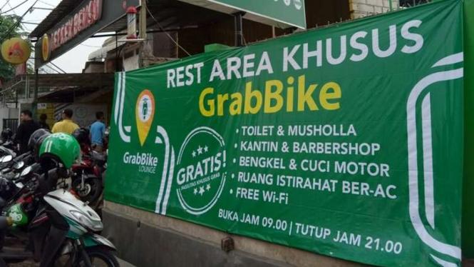 GrabBike Lounge.