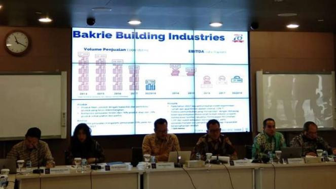 Public Expose Bakrie Building Industries.