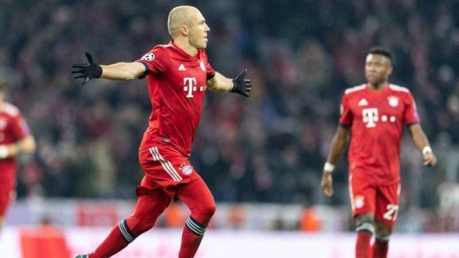 Winger Bayern Munich, Arjen Robben