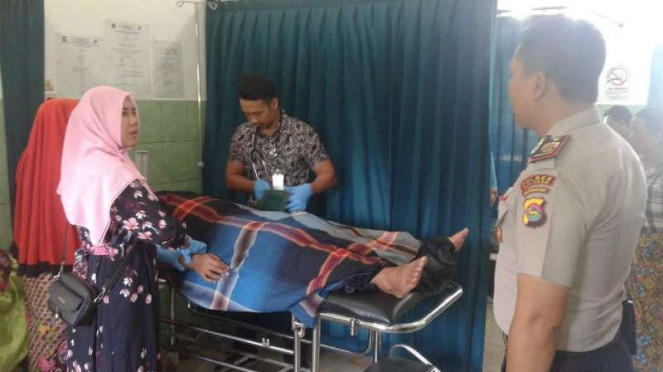 Korban Luka Gempa Lombok Bertambah