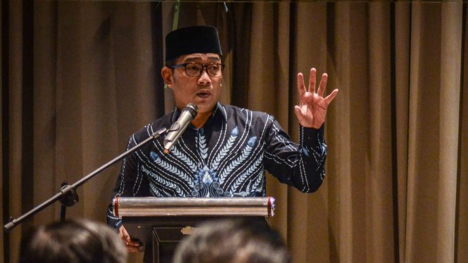 Dewan Pengarah TKD Jabar Jokowi-Maruf Amin, Ridwan Kamil