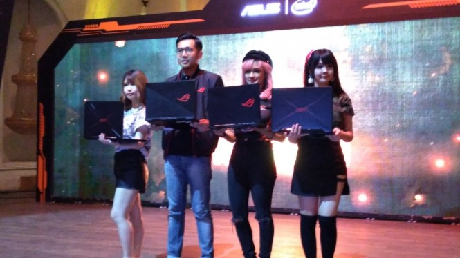Peluncuran laptop Asus ROG Zephyrus S GX531