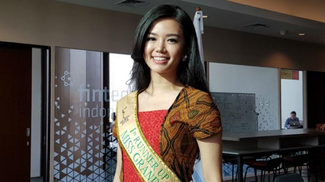 Vivi Wijaya, Runner Up Miss Grand Indonesia