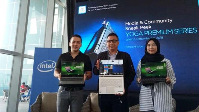 Peluncuran laptop Lenovo Yoga C930 dan Yoga S730.