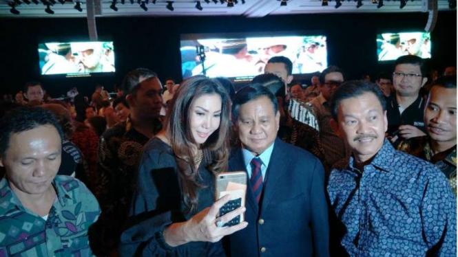 Acara dukungan para pengusaha keturunan Tionghoa kepada Prabowo