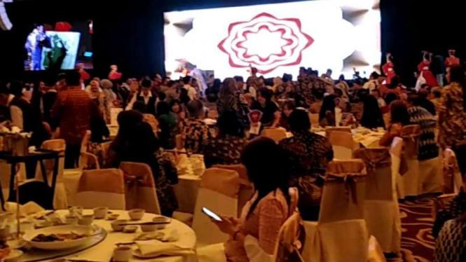 Gala dinner pengusaha Tionghoa dukung Prabowo-Sandiaga.
