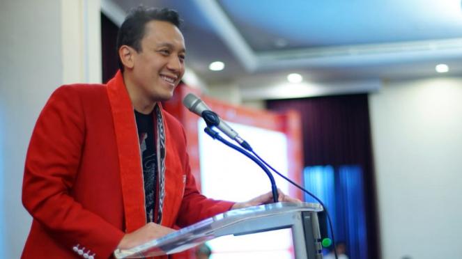 Ketua Umum Partai Keadilan dan Persatuan Indonesia (PKPI), Diaz Hendropriyono