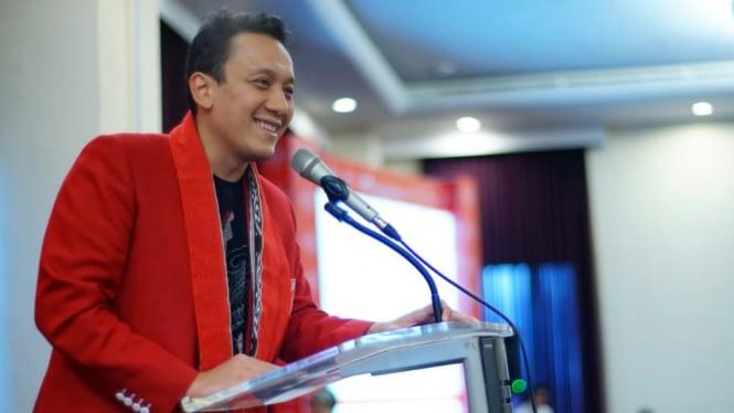 Ketua Umum Partai Keadilan dan Persatuan Indonesia (PKPI), Diaz Hendropriyono.