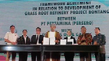 Perusahaan Migas Asal Oman Sepakat Danai 100 Persen Pembangunan Kilang Bontang