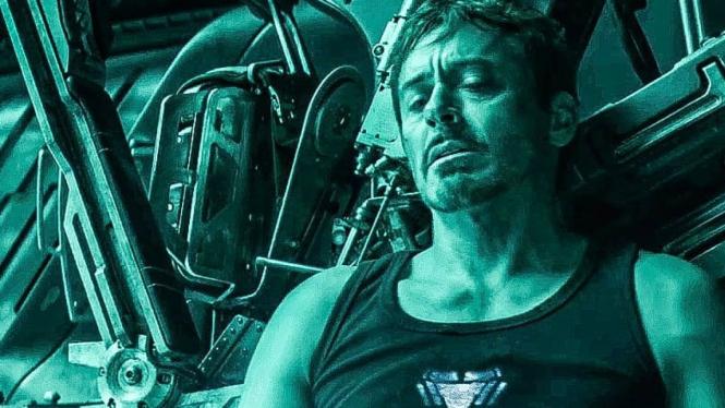 Iron Man sekarat dalam trailer Avengers Endgame